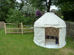 "Mini Yurt & Cleft Fencing • <a style=""font-size:0.8em;"" href=""http://www.flickr.com/photos/61957374@N08/14325432052/"" target=""_blank"">View on Flickr</a>"