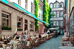 Kolben-Kaffee-Akademie (micagoto) Tags: caf freiburg markthalle kulturzentrum kolbenkaffeeakademie