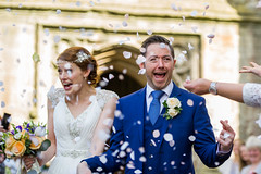 Tracey & Matt - April 2014 (Polly-Thomas) Tags: wedding england love church groom bride couple confetti weddingdress cirencester weddingphotographer weddingphotography nikon70200mmf28 pollyandsimon nikond3s pollysimon