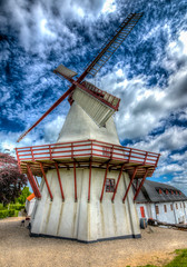 The Dybbl Mill (mnielsen9000) Tags: mill windmill hdr d600 1864 dybbl sonderborg dybblmlle nikon1635 dybblmill