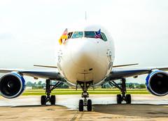 #Boeing 767-300ER #USA #GER (Condor.com) Tags: usa minnesota frankfurt minneapolis twincities condor ger boeing767 ferienflieger condorairline mitcondorindieusa