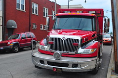 Newport Fire Department EMS Medic 982 (Triborough) Tags: kentucky ky ambulance firetruck international newport fireengine medic ems aev nfd campbellcounty newportfiredepartment medic982