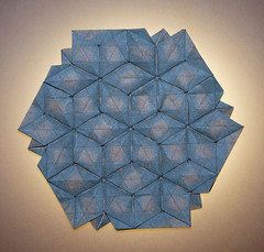 RHOMBUS TESSELLATION (mganans) Tags: origami tessellation