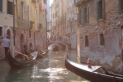 Venice, Italy (MJR96) Tags: city venice light sunset vacation italy sun holiday water beauty sunshine river boats evening boat canal europa europe italia european canals gondola northern venezia europeanunion gondolas