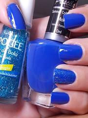 Mar - Priscila + Show de Bola - L'apogée (Natalia Breda) Tags: azul glitter priscila lapogée esmaltenacional