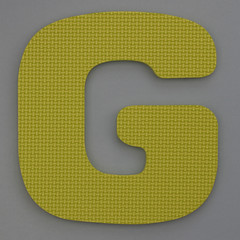 Foam Play Mat Letter G (Leo Reynolds) Tags: g letter oneletter ggg letterset grouponeletter xsquarex xleol30x