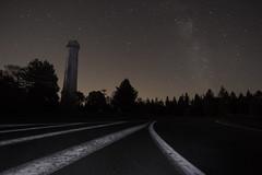 (Emilien Gass) Tags: trees sky night canon stars landscapes ciel astrophotography alsace astronomy toiles milkyway voielacte 550d champdufeu tokina1116mm