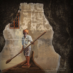 The Indian Boatman (Micartttt) Tags: georgetown unescoworldheritagesite unesco malaysia penang micarttttworldphotographyawards micartttt juliavolchkova