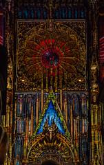 Cathdrale de Strasbourg - Illuminations (Y-Ti) Tags: summer france canon eos illuminations strasbourg cathdrale alsace t vauban 600d samyang