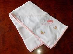 FRALDA (Cecys Baby) Tags: vanessa verde branco de rosa toalha kit menina borboletas guimarães passaros clássico gaiola berco fralda fraldinha