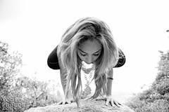 IMG_9570ChristineHewitt_YogicPhotos (yogicphotos) Tags: travel portrait blackandwhite bw woman india yoga photography women maya crane balance crow mysore asana bakasana crowpose cranepose portraitphotographer christinehewitt portraitphotography armbalance yogaportrait yogaphotography yogaphotographer yogicphotos
