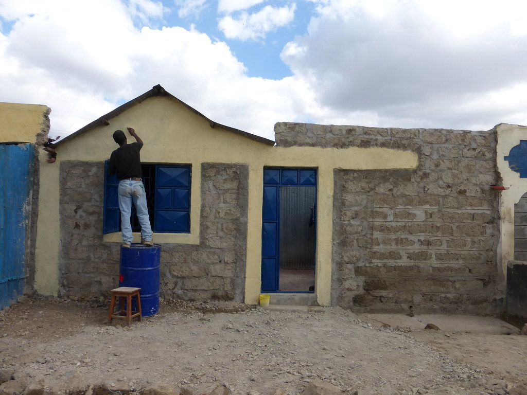 Painting the wall and gable prondis in kenya tags house wall paint kenya nairobi front