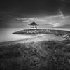 Relaxing (farizun amrod) Tags: bali monochrome indonesia jetty relaxing sanur gunungagung pantaikarang