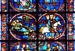 Laon - Cathedral (Martin M. Miles - on the road again..) Tags: france charlemagne dream stainedglass 02 picardie magi laon picardy aisne gaudry lordchancellor cathdralenotredamedelaon dreamofthemagi easterinsurrection waldric lordkeeper