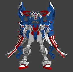 Full Burst HiMAT 'Murca Mode (TF Twitch) Tags: usa mobile digital america liberty freedom robot justice war day lego eagle designer space military united 4 bald 4th july suit scifi fi states independence gundam fourth sci mecha mech mechas ldd