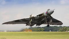 20140706_Waddington_1840 (Andy G Leonard) Tags: aircraft airshow vulcan raf avro waddington xh558