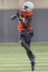 OSU Football Fall Practice, Saturday, August 2, 2014, Sherman E. Smith Training Center, Stillwater, OK (OSUAthletics) Tags: cowboys training football osu 2014 oklahomastateuniversity seales cowboyfootball fallpractice shermanesmithtrainingcenter jhajuanseales