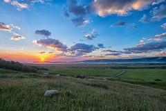 Montana Sunrise (anzere03) Tags: ranch sunrise montana farm west14 fujixe2 fuji1024