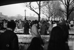 IMG_0016 (TozMoz) Tags: white 3 black london film thames river book hand market south bank books second plus ilford fp4 stalls ilfosol