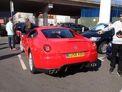 2008 Ferrari 599 Fiorano GTB F1 (mangopulp2008) Tags: new rally f1 ferrari 2008 meet gumball kreme gtb malden 599 fiorano krespy 2008ferrari599fioranogtbf1