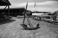 DSC_4068 (JN_Tetreault) Tags: old blackandwhite big anchor mystic seaport
