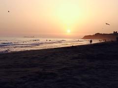 La Barrosa (Marisol Torremocha Lpez) Tags: summer espaa sol spain playa verano cadiz puestadesol playadelabarrosa