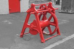 Simply Red (Eiona R.) Tags: wales unitedkingdom burryport wfcburryport2014