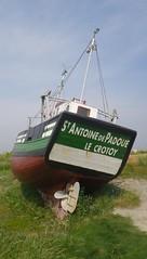 Le Crotoy - Le Saint Antoine de Padoue (gueguette80 ... non voyant pour une dure indte) Tags: sea mer boats marin bateaux paysage peche bais picardie somme crotoy chalutier lecrotoy navires