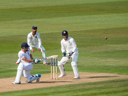 Jos Buttler sweeps by Mike Prince, on Flickr