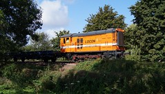 Bakkie LOCON 9702 - Rhoon 03/08/2014 (Corn-ZW1993) Tags: diesel metro ns 600 locomotive ret trein werkzaamheden poortugaal 2014 bakkie rhoon waalhaven 9702 locon railpro tussenwater hippel