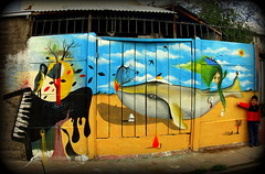 Ⓐ m a r (Felipe Smides) Tags: streetart graffiti calle mural amor fuego pintura amar callejera muralismo puentealto smides felipesmides