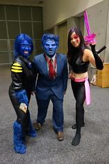 SDCC 2014 D2 - 048 (Cutterin) Tags: san comic cosplay diego xmen beast marvel con 2014 psylocke psyblade crimsondawn cutterin sdcc2014 sandiegocomiccon2014
