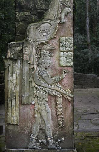 Palenque Mayan Original Stonework