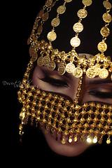 Sailing sorrow (DesertWindsPhotography) Tags: jewelry makeup art blue gold red india arab arabic uae qatar saudi arabia black colorful morocco fabric hijab green women portrait indoor bright background الإمارات السعودية بتول الكويت البرقع عيون برقع