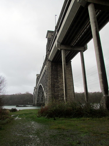 The Britannia Bridge