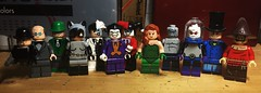 Batman: The Animated Series (LordAllo) Tags: lego dc batman the animated series onlinesailin ventriloquist scarface riddler catwoman twoface joker harley quinn poison ivy killer croc mr freeze mad hatter scarecrow