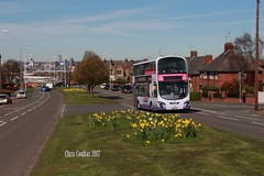 City climber (ccoultas) Tags: first west yorkshire leeds hunslet park bus volvo b9tl wright gemini eclipse