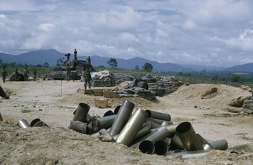 From flickr.com: VIETNAM WAR - Central Highlands, Kontum. Image by manhai via flickr {MID-157158}