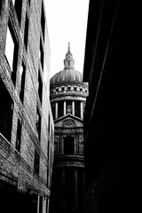 St Paul's Cathedral - Contrast London by Simon & His Camera (Simon & His Camera) Tags: cathedral stpauls contrast passage architecture blackandwhite shade shadow sunlight dome window column building bw black city dark iconic london light monochrome outdoor simonandhiscamera urban
