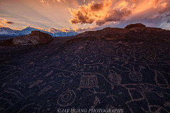 Hope From The Sky (Jaykhuang) Tags: bishop california easternsierra sunset sunrays jayhuangphotography rockcarving indian ancient petroglyphs sky rock