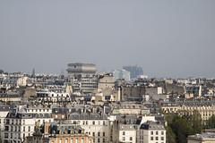 VIEW FROM EIFFEL TOWER (paul jeffrey 1) Tags: eiffeltower france paris arcdetriomphe