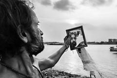 (Street and fine art by Manobihangam) Tags: street people mono monochrome fine art kolkata india riverbank