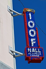 Odd Fellows Hall, Alameda, CA (Robby Virus) Tags: alameda ca california eastbay independent order odd fellows fraternal organization lodge temple hall ioof