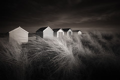 Postcards (jellyfire) Tags: beach beachhuts blackandwhite canon5dmkii coast distagont3518 dunes eastanglia landscape landscapephotography mono sand sea shingle southwold sunrise water ze zeissdistagont18mmf35ze canon clouds coastal countryside dawn foreshore infrared monochrome movement northsea seascape shore spring sunrisecoast tide tourism unitedkingdom waves zeiss