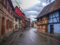 Benfeld, Alsace (Co-jjack) Tags: alsace hdrsingleraw couleur rue village hdrenfrancais