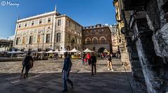Palazzo San Giorgio (mauribardi) Tags: hdr genova liguria mare palazzo portici pietra storia