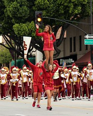 USC Trojan Marching Band (Prayitno / Thank you for (12 millions +) view) Tags: konomark tor tournamentofroses rose parade pasadena ca california young pretty beauty beautiful sexy girl girls mini skirt gameday cheerleader cheerleaders outdoor day time cloudy cheer trojan marching band walk double stack stacked fighton usc universityofsoutherncalifornia hot