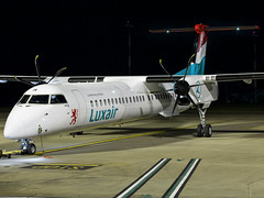 Luxair | De Havilland Canada DHC-8-402Q Dash 8 | LX-LGE (Bradley at EGSH) Tags: egsh nwi norwichairport norwich norwichinternationalairport norfolk canon70d luxembourg night nightphotos nightphotography tripod aircraft air aviation airplane airlines airport aeroplane airways europe bombardier dehavillandcanadadhc8402qdash8 dehavillandcanada bombardierdash8q402 dash dash8 q400 luxair lxlge