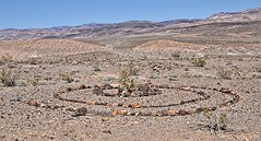 A spiral in a most inhospitable place (Starkrusher) Tags: spiral deathvalley desolate desert arid campers nationalpark california