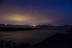 Malin Head (DayanaGomezPhotography) Tags: approved moutain night sky malin head malinhead beach water sand clouds stars